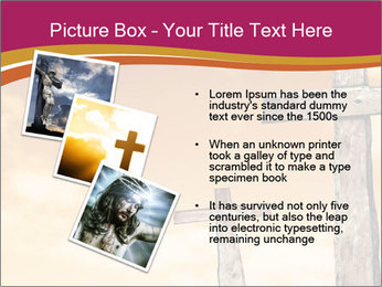 Crosses on a hill PowerPoint Template - Slide 17