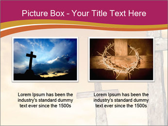 Crosses on a hill PowerPoint Templates - Slide 18