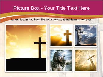 Crosses on a hill PowerPoint Templates - Slide 19