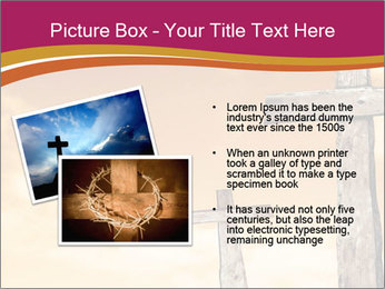 Crosses on a hill PowerPoint Templates - Slide 20