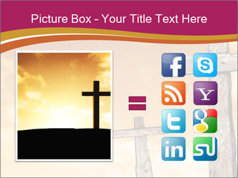 Crosses on a hill PowerPoint Template - Slide 21