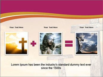 Crosses on a hill PowerPoint Template - Slide 22