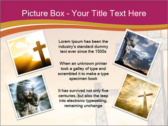 Crosses on a hill PowerPoint Template - Slide 24