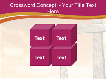 Crosses on a hill PowerPoint Templates - Slide 39
