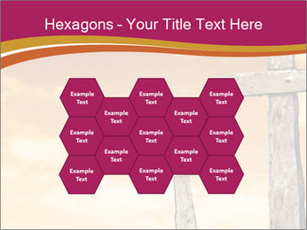 Crosses on a hill PowerPoint Template - Slide 44