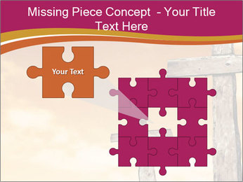 Crosses on a hill PowerPoint Template - Slide 45