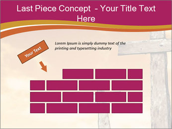 Crosses on a hill PowerPoint Template - Slide 46