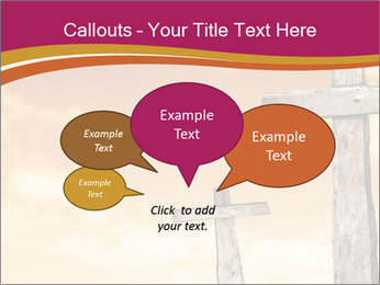 Crosses on a hill PowerPoint Template - Slide 73