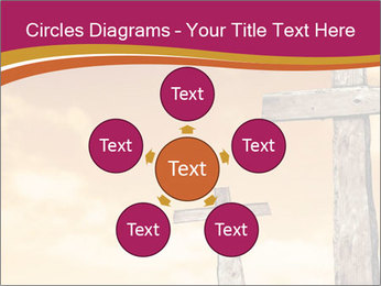 Crosses on a hill PowerPoint Template - Slide 78