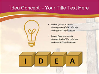 Crosses on a hill PowerPoint Template - Slide 80