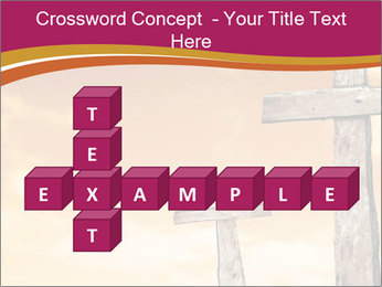 Crosses on a hill PowerPoint Template - Slide 82