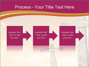Crosses on a hill PowerPoint Template - Slide 88