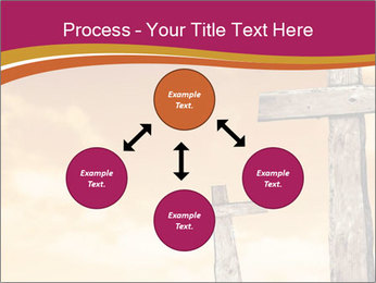 Crosses on a hill PowerPoint Template - Slide 91