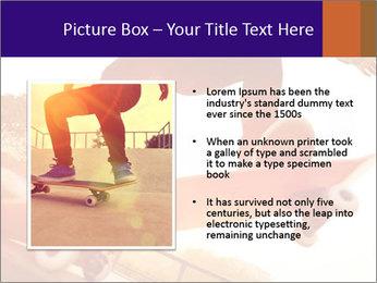 Skateboarding PowerPoint Templates - Slide 13