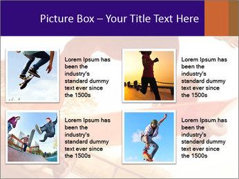 Skateboarding PowerPoint Templates - Slide 14