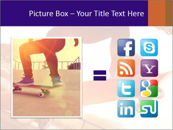 Skateboarding PowerPoint Template - Slide 21