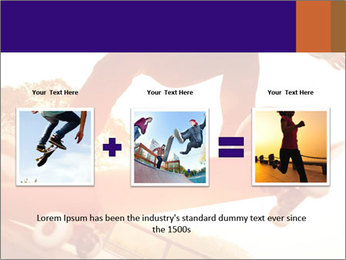 Skateboarding PowerPoint Template - Slide 22