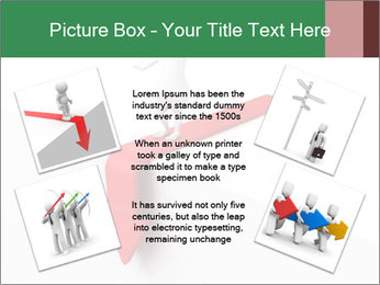 3d confused business man PowerPoint Templates - Slide 24