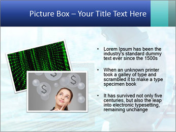 Blue science PowerPoint Template - Slide 20