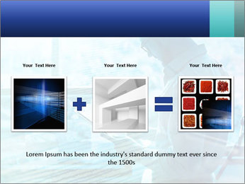 Blue science PowerPoint Template - Slide 22