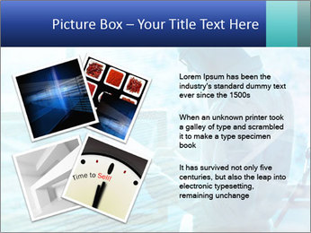 Blue science PowerPoint Template - Slide 23