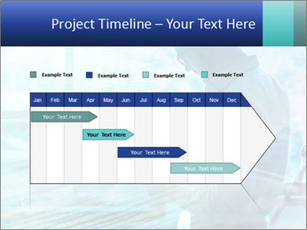 Blue science PowerPoint Template - Slide 25