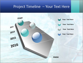 Blue science PowerPoint Template - Slide 26