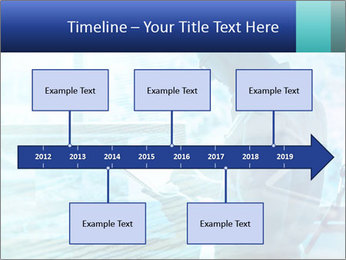 Blue science PowerPoint Template - Slide 28
