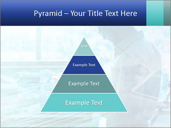 Blue science PowerPoint Template - Slide 30