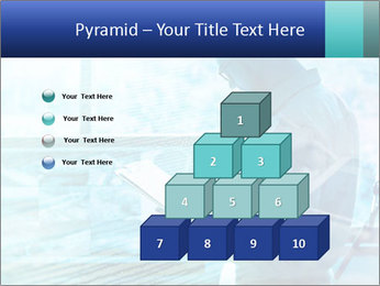 Blue science PowerPoint Template - Slide 31