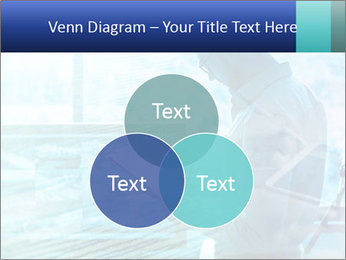 Blue science PowerPoint Template - Slide 33