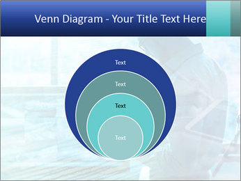 Blue science PowerPoint Template - Slide 34