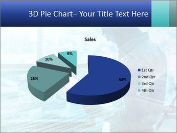 Blue science PowerPoint Template - Slide 35