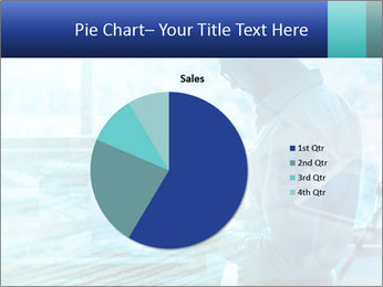 Blue science PowerPoint Template - Slide 36