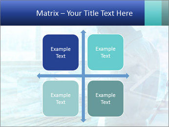 Blue science PowerPoint Template - Slide 37