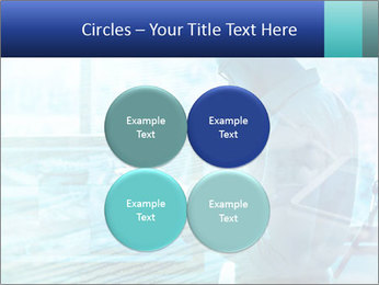 Blue science PowerPoint Template - Slide 38