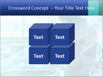 Blue science PowerPoint Template - Slide 39