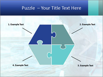 Blue science PowerPoint Template - Slide 40