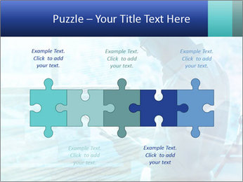 Blue science PowerPoint Template - Slide 41