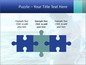 Blue science PowerPoint Template - Slide 42