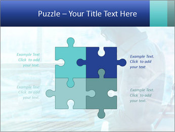 Blue science PowerPoint Template - Slide 43