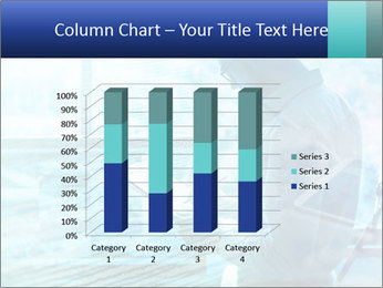Blue science PowerPoint Template - Slide 50