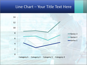 Blue science PowerPoint Template - Slide 54
