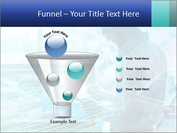 Blue science PowerPoint Template - Slide 63