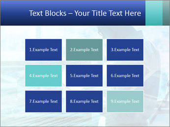 Blue science PowerPoint Template - Slide 68