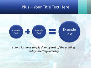Blue science PowerPoint Template - Slide 75