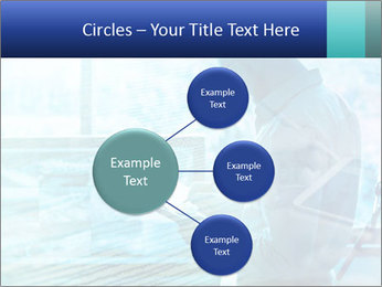 Blue science PowerPoint Template - Slide 79