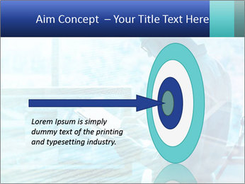 Blue science PowerPoint Template - Slide 83
