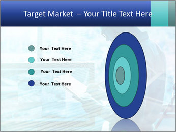 Blue science PowerPoint Template - Slide 84
