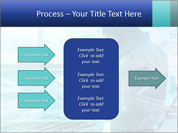 Blue science PowerPoint Template - Slide 85